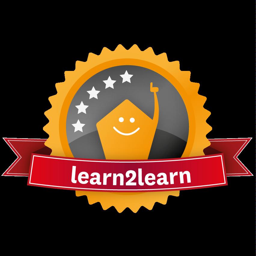 Logo für den Learn2learn- Trainerschein